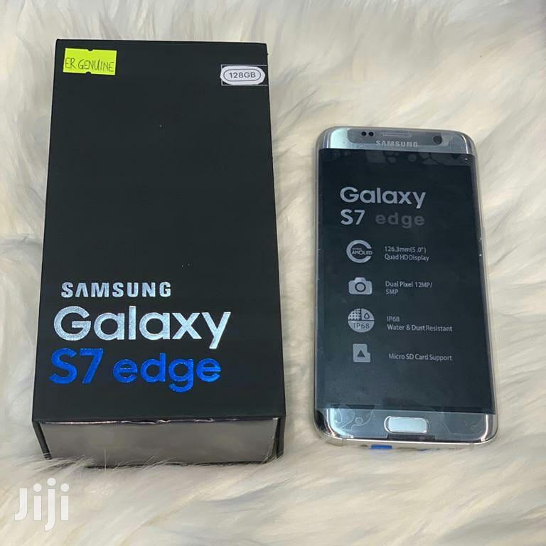 New Samsung Galaxy S7 edge 32 GB Silver | Mobile Phones for sale in Kinondoni, Dar es Salaam, Tanzania