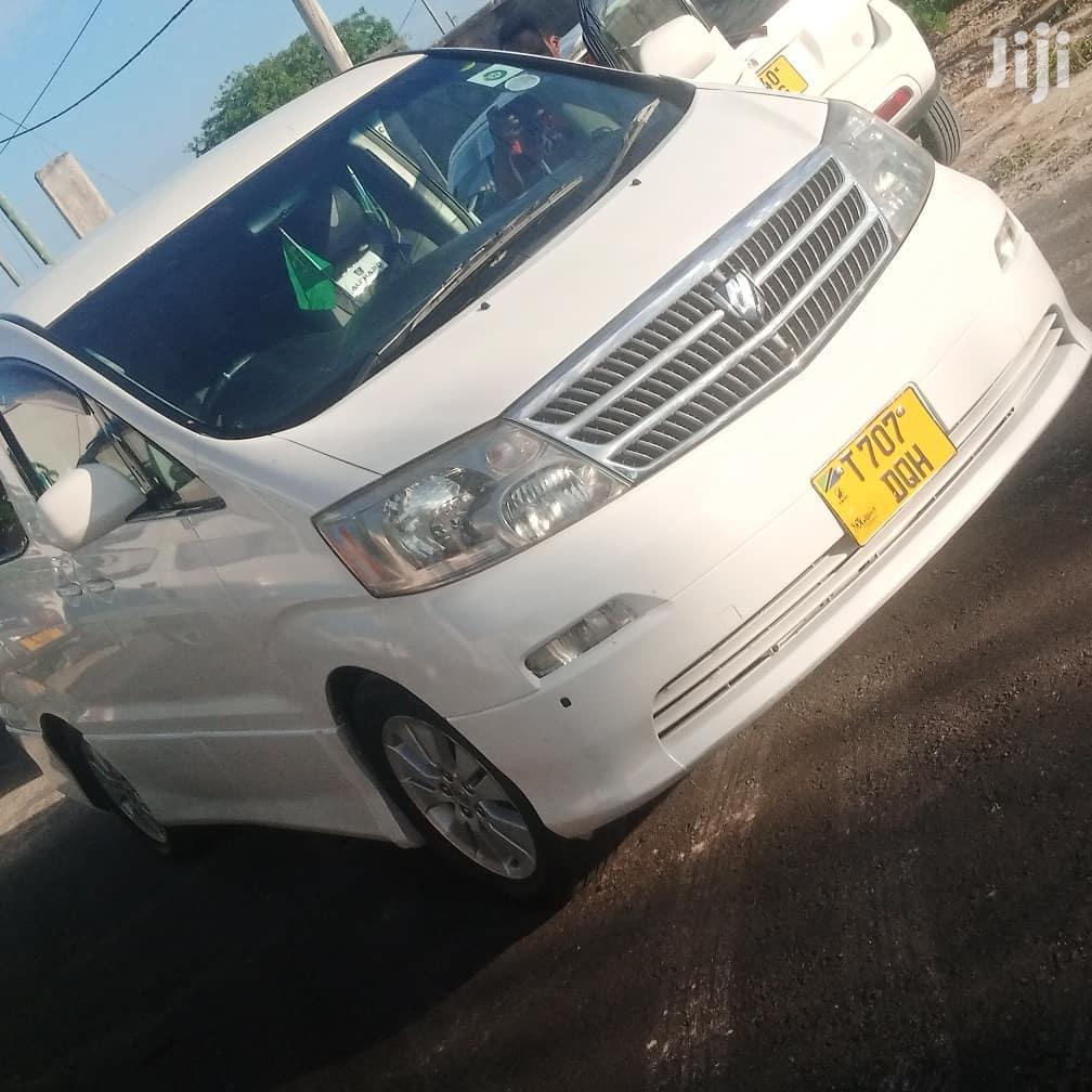 Toyota Alphard 2003 White | Cars for sale in Kinondoni, Dar es Salaam, Tanzania