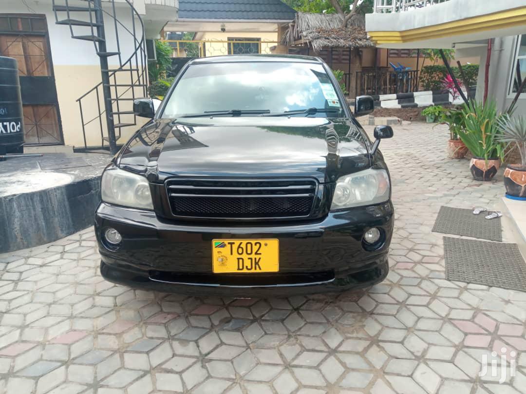 Toyota Kluger 2008 Black