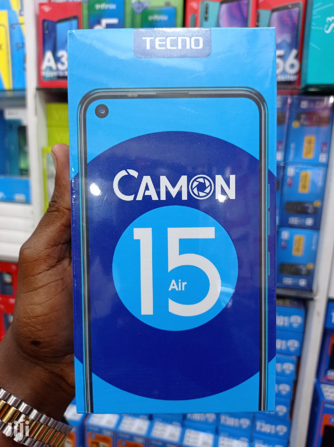 New Tecno Camon 15 Air 64 GB Black
