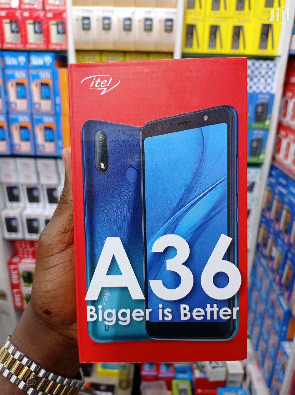 New Itel A33 16 GB Black