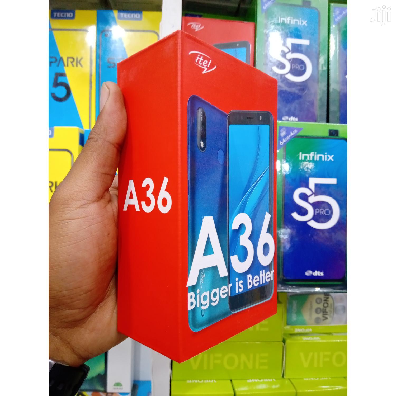 New Itel A36 16GB Black | Mobile Phones for sale in Ilala, Dar es Salaam, Tanzania