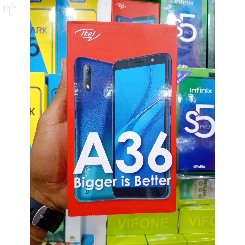 New Itel A36 16GB Black