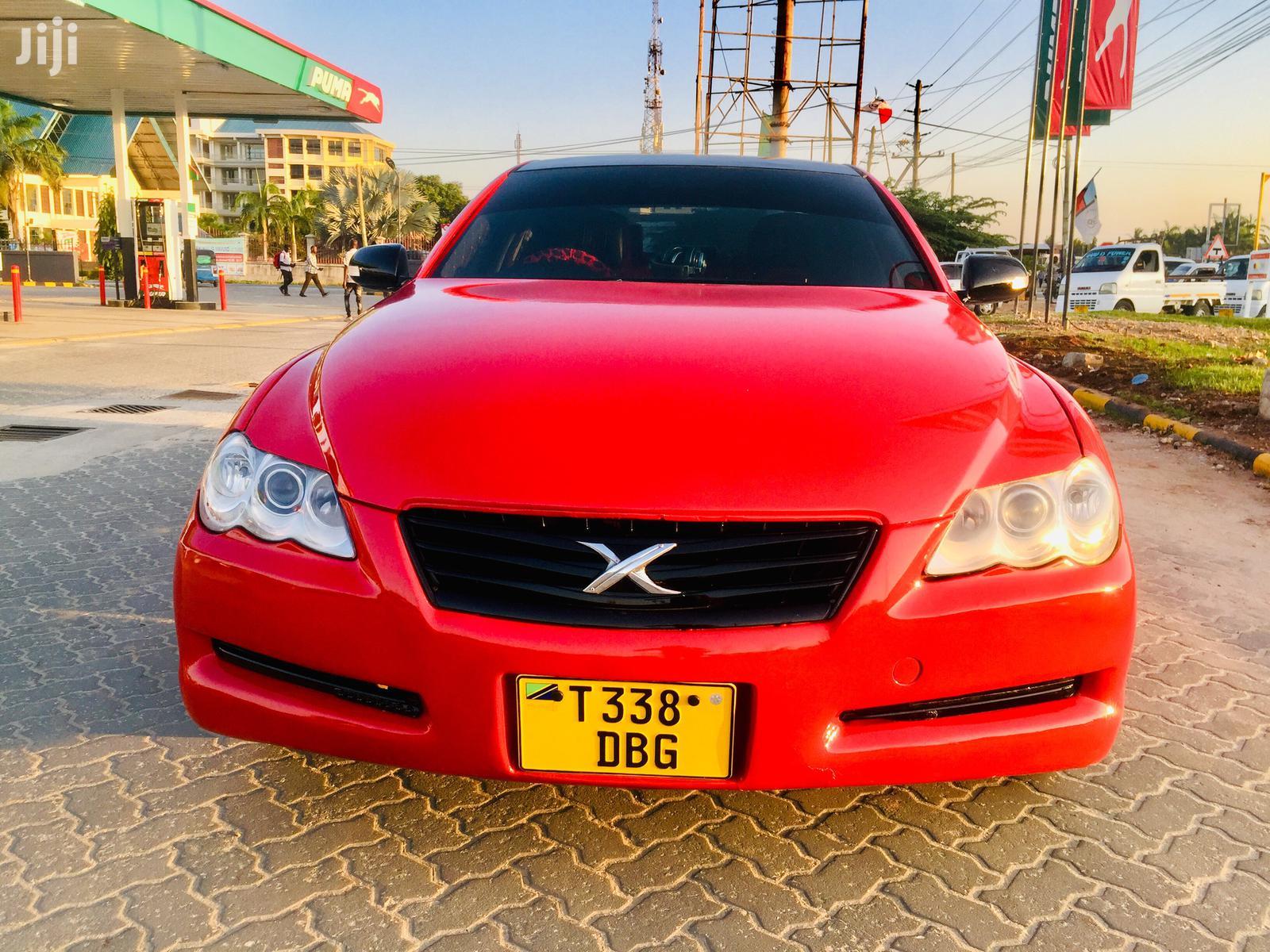 Toyota Mark X 2007 Red | Cars for sale in Kinondoni, Dar es Salaam, Tanzania