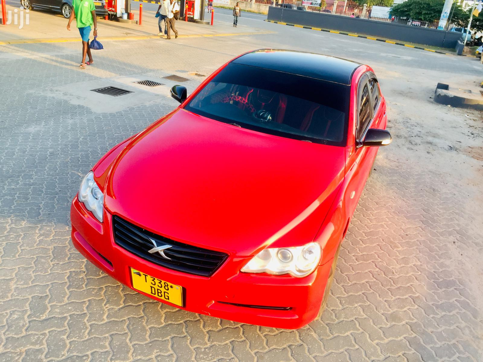 Toyota Mark X 2007 Red