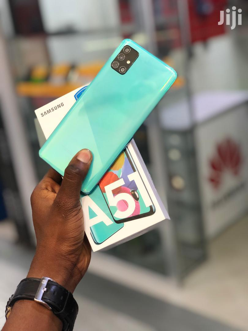 New Samsung Galaxy A51 128 GB Blue | Mobile Phones for sale in Ilala, Dar es Salaam, Tanzania