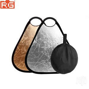 2in1 80cm Triangular Reflector, Gold/Silver   Accessories & Supplies for Electronics for sale in Dar es Salaam, Kinondoni