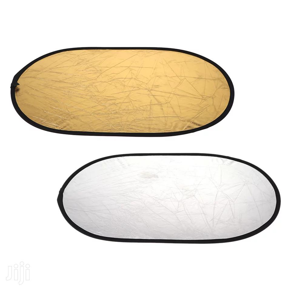 Archive: 100*150cm 2 In 1 Gold And Silver Photography Reflector