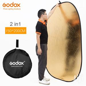 Godox 150*200cm 2 In 1 Gold And Silver Photography Reflector   Accessories & Supplies for Electronics for sale in Dar es Salaam, Kinondoni