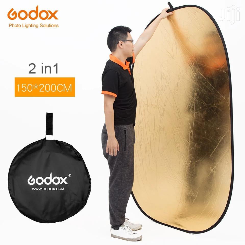 Archive: Godox 150*200cm 2 In 1 Gold And Silver Photography Reflector