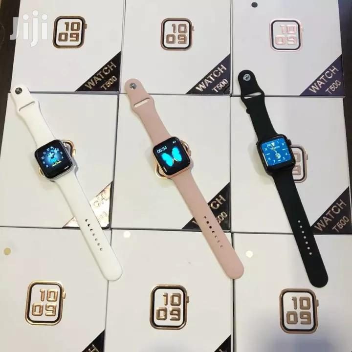 Smartwatch T500 | Smart Watches & Trackers for sale in Ilala, Dar es Salaam, Tanzania
