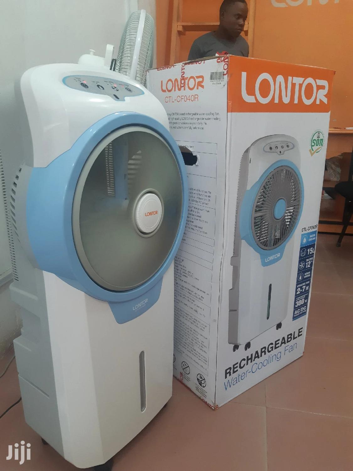 Rechargable Water Cooling Fan | Home Appliances for sale in Ilala, Dar es Salaam, Tanzania