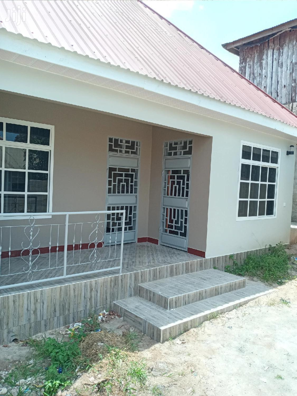 House For Rent At Kibanda Cha Mkaa