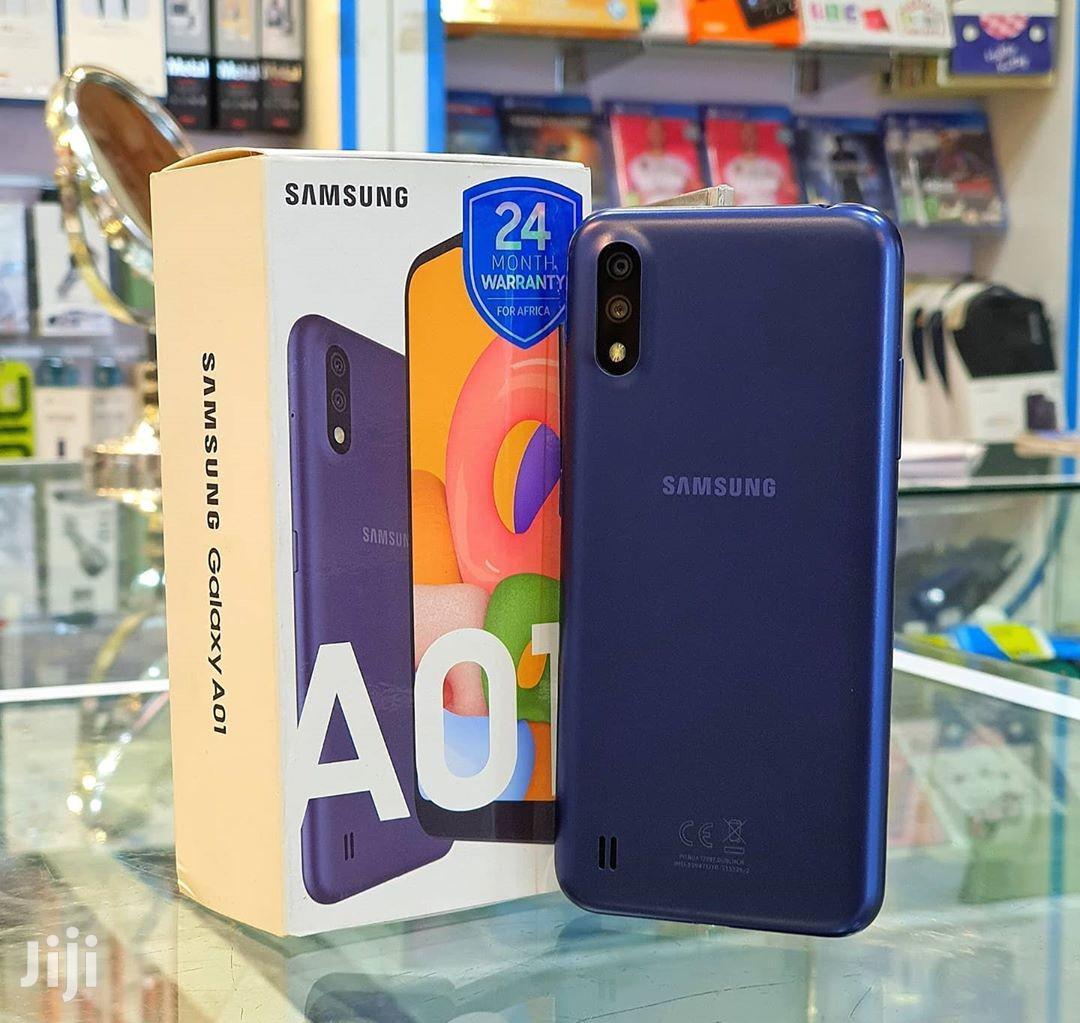 New Samsung Galaxy A01 16 GB Black