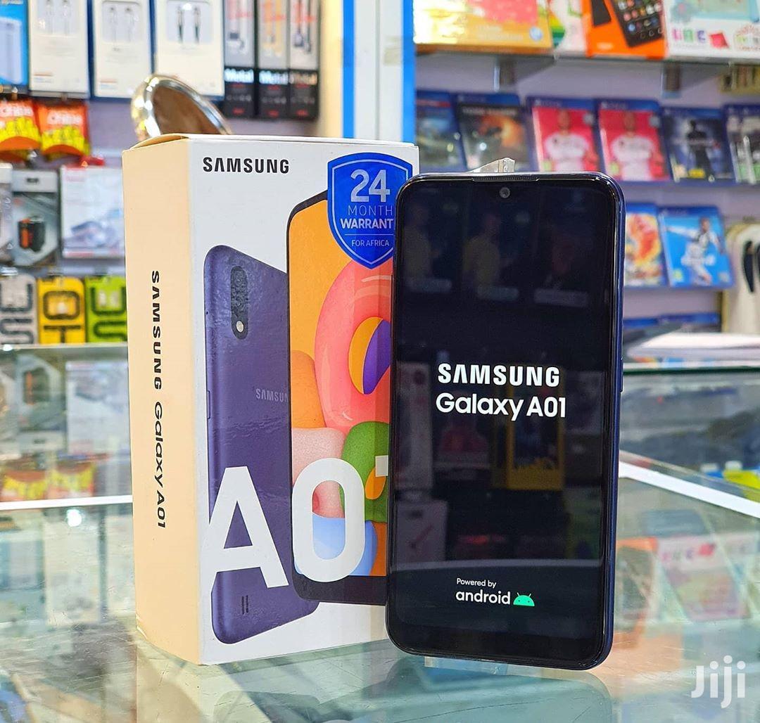 New Samsung Galaxy A01 16 GB Black | Mobile Phones for sale in Ilala, Dar es Salaam, Tanzania