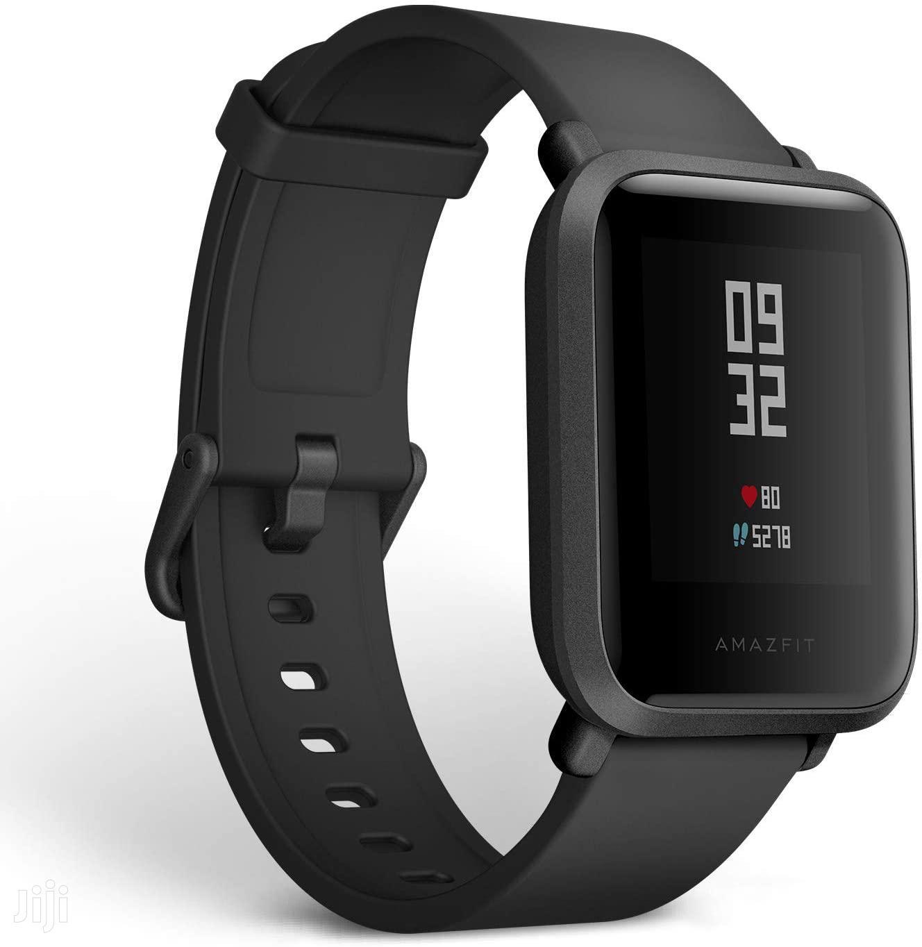 Amazfit Bip Smart Watch Black | Smart Watches & Trackers for sale in Ilala, Dar es Salaam, Tanzania