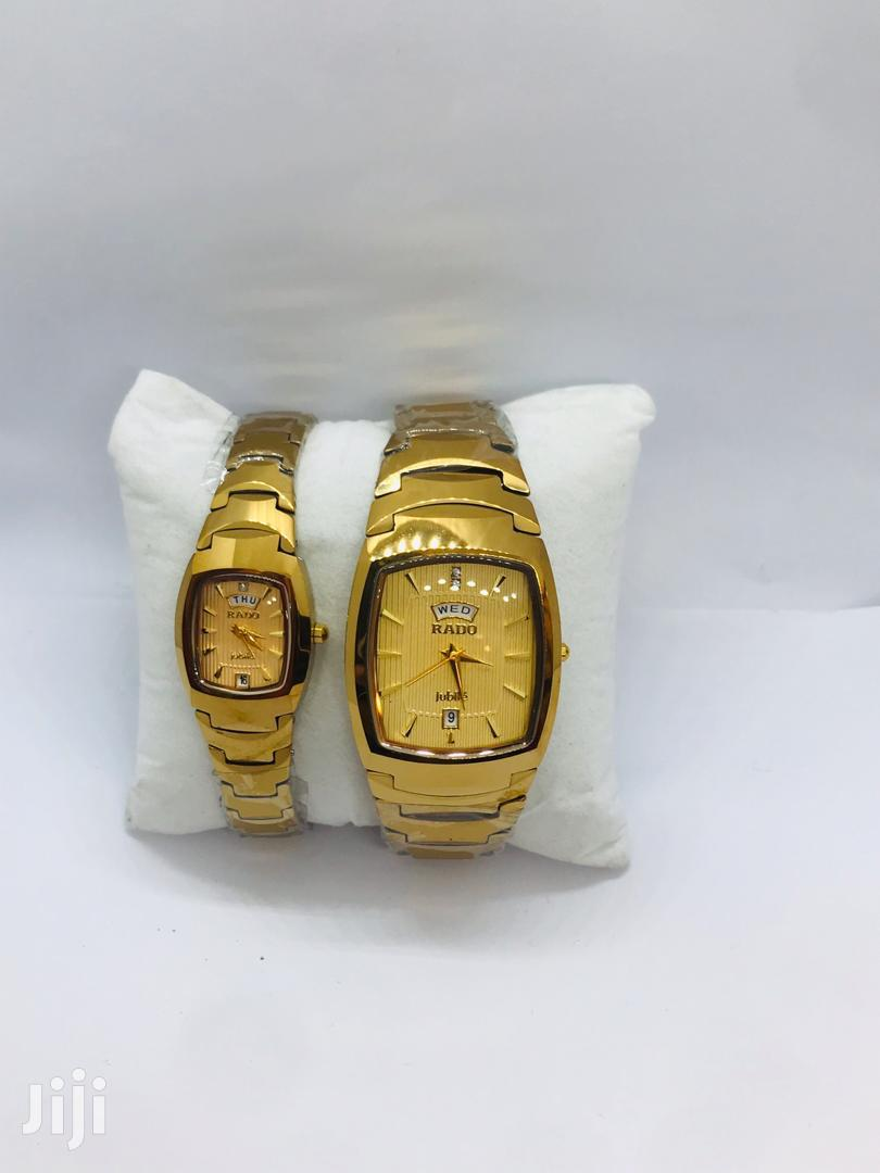 Archive: Couple Rado Watch