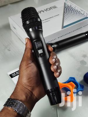 Professional Dual Handheld Wireless UHF Microphone System | Audio & Music Equipment for sale in Dar es Salaam, Kinondoni