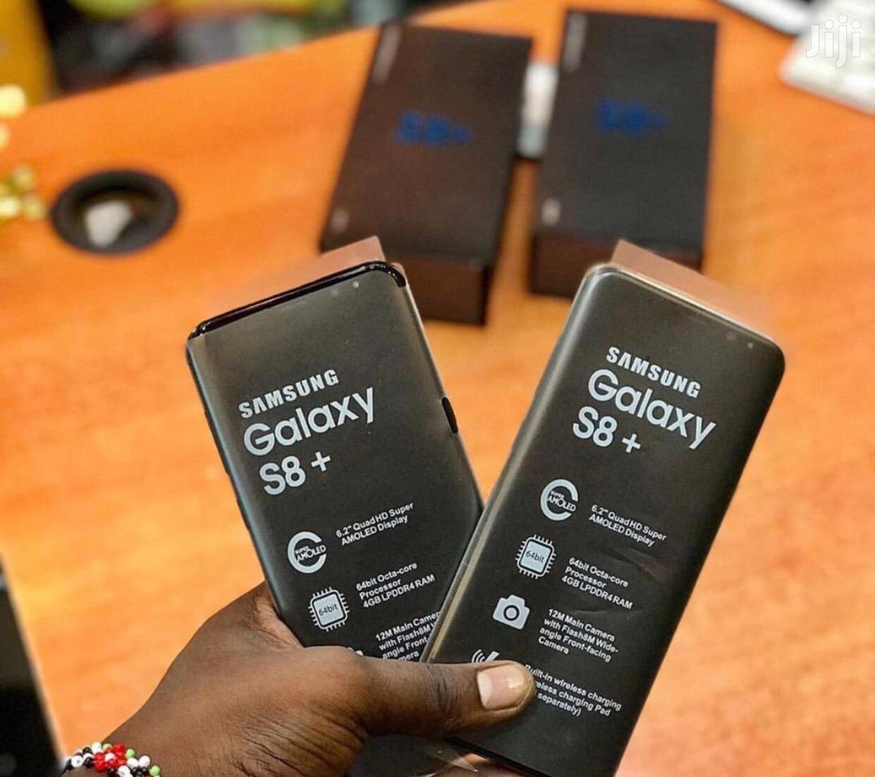 Archive: New Samsung Galaxy S8 Plus 64 GB Black