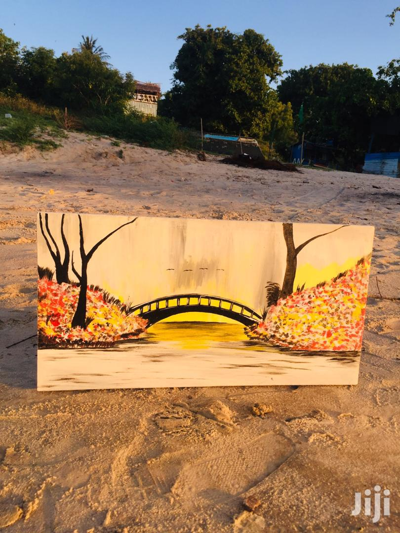 Canvas Painted Wall Pictures | Arts & Crafts for sale in Temeke, Dar es Salaam, Tanzania