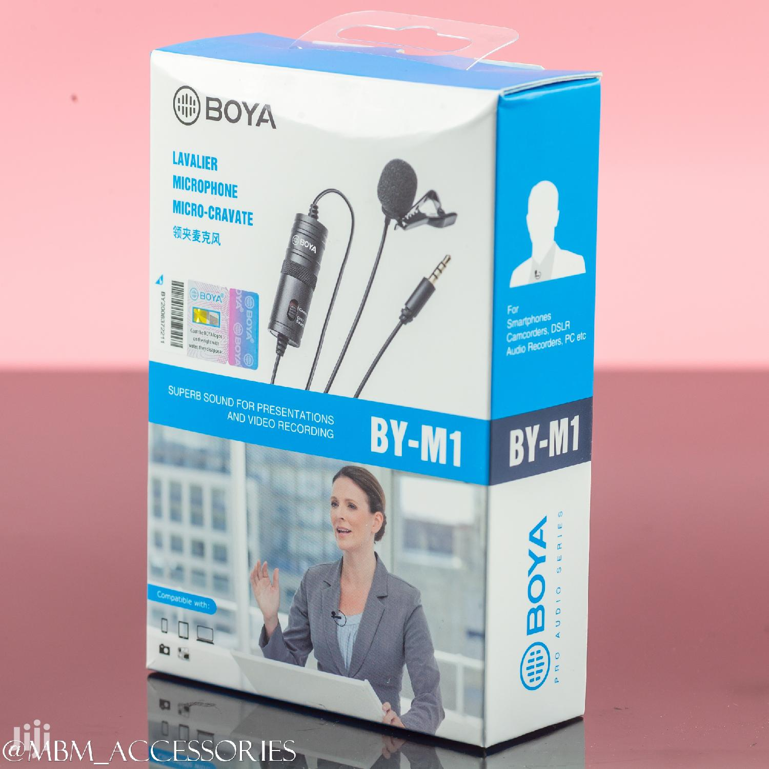 Archive: BOYA BY-M1 Video Record Microphone