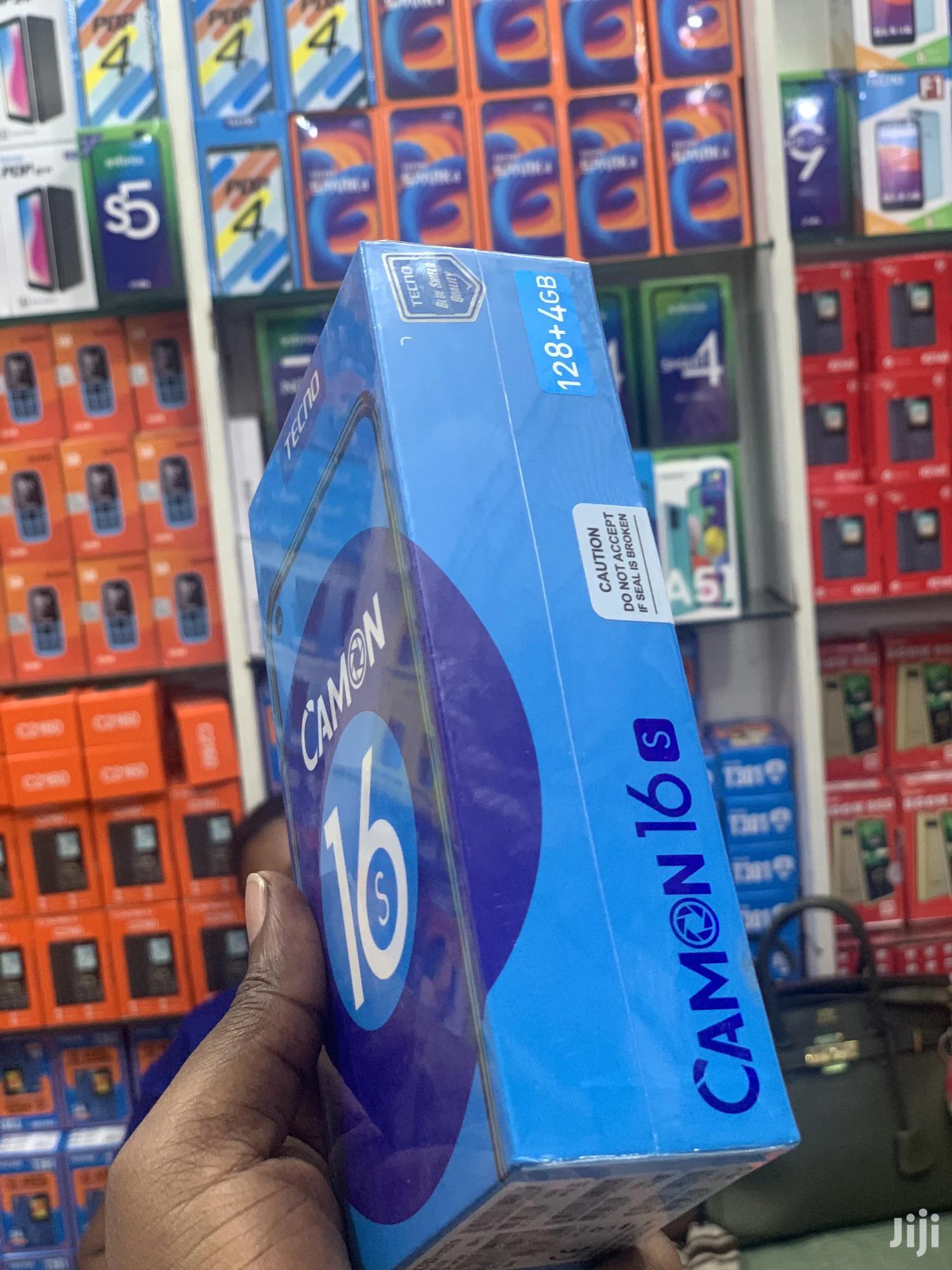 New Tecno Camon 16S 128 GB | Mobile Phones for sale in Ilala, Dar es Salaam, Tanzania
