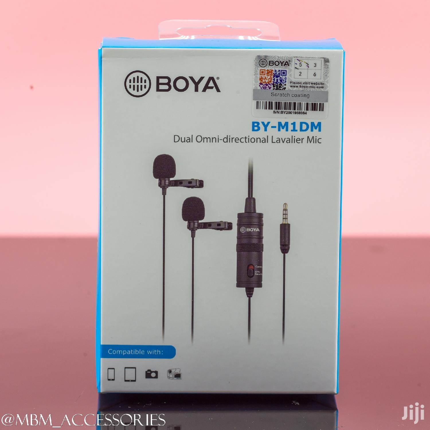 Archive: BOYA BY-M1DM Dual Head Lavalier Condenser Microphone