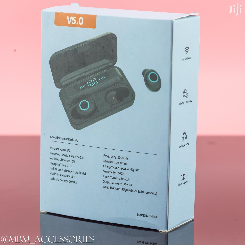 F9 TWS Bluetooth 5.0 Wireless Earphones Touch Control