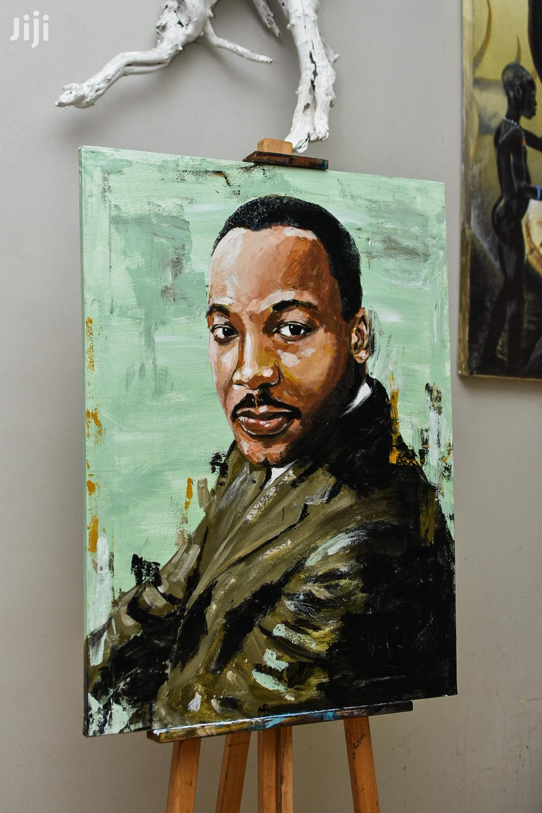 Archive: Martin Luther King Jr Panting
