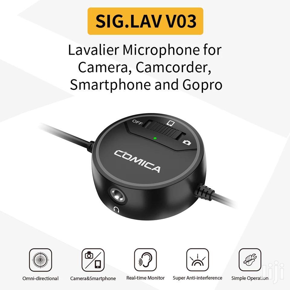 Archive: COMICA SIG.LAV V03 Omni-directional Lavalier Microphone