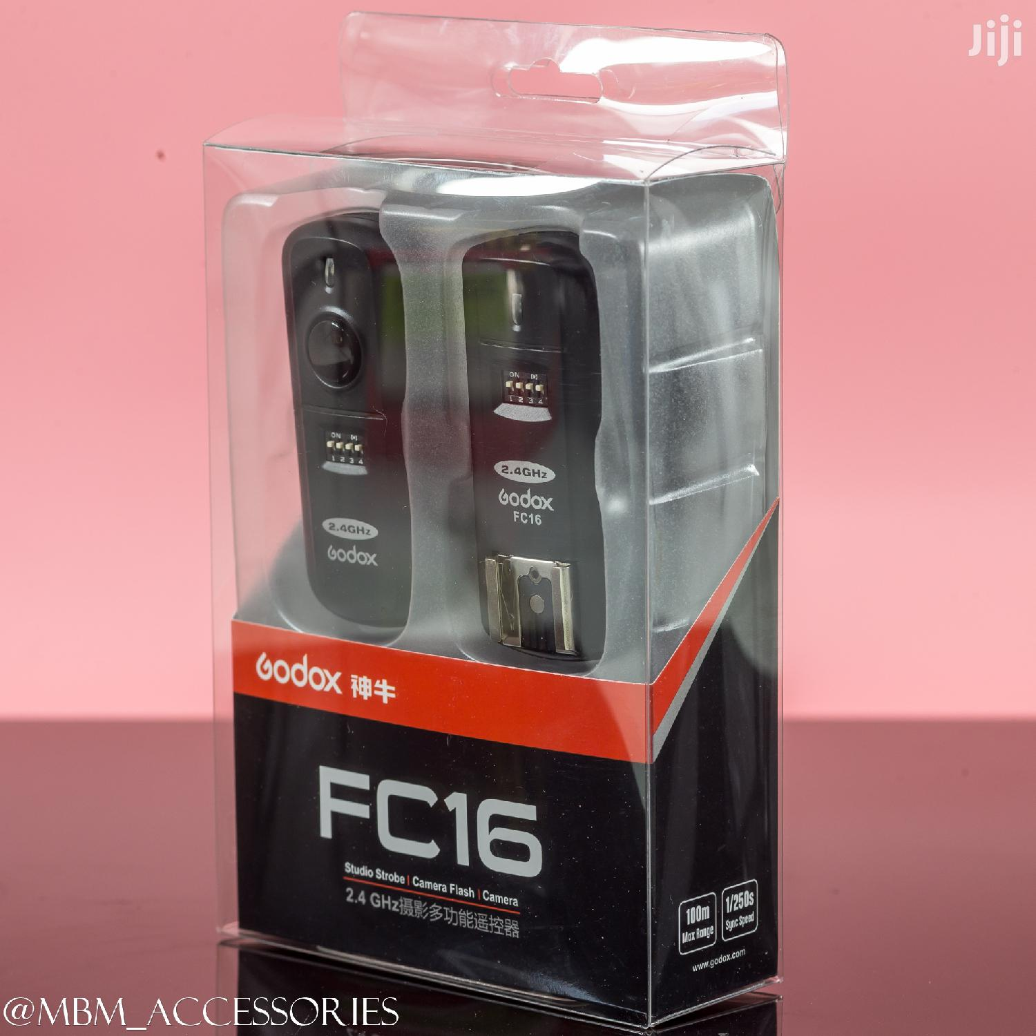 Godox FC-16 2.4ghz 16 Channels Wireless Remote Flash Trigger | Accessories & Supplies for Electronics for sale in Kinondoni, Dar es Salaam, Tanzania