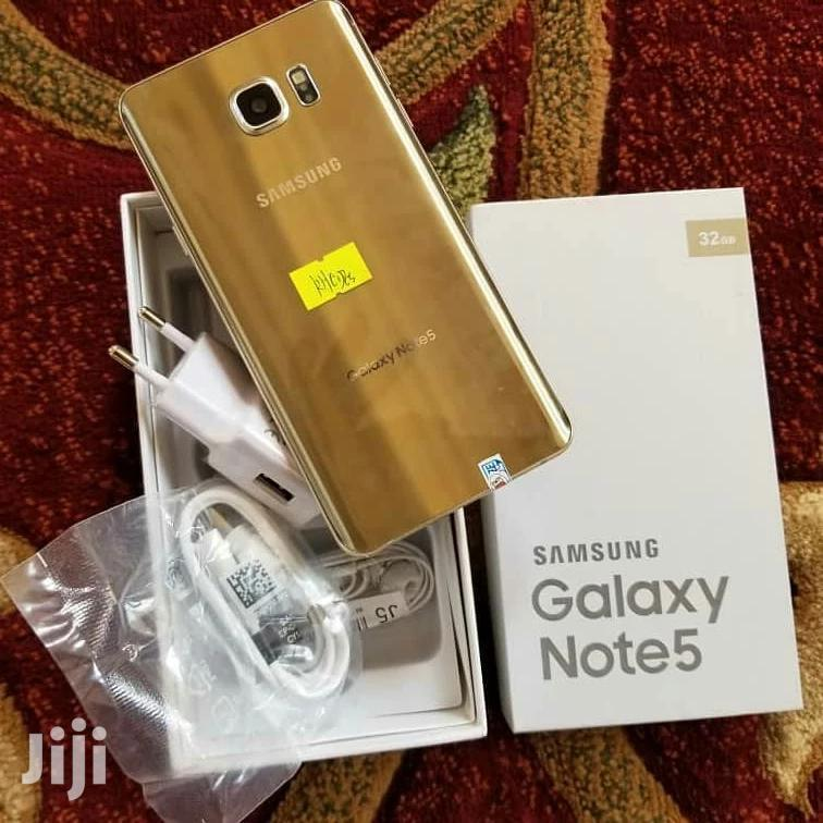 New Samsung Galaxy Note 5 32 GB Gold