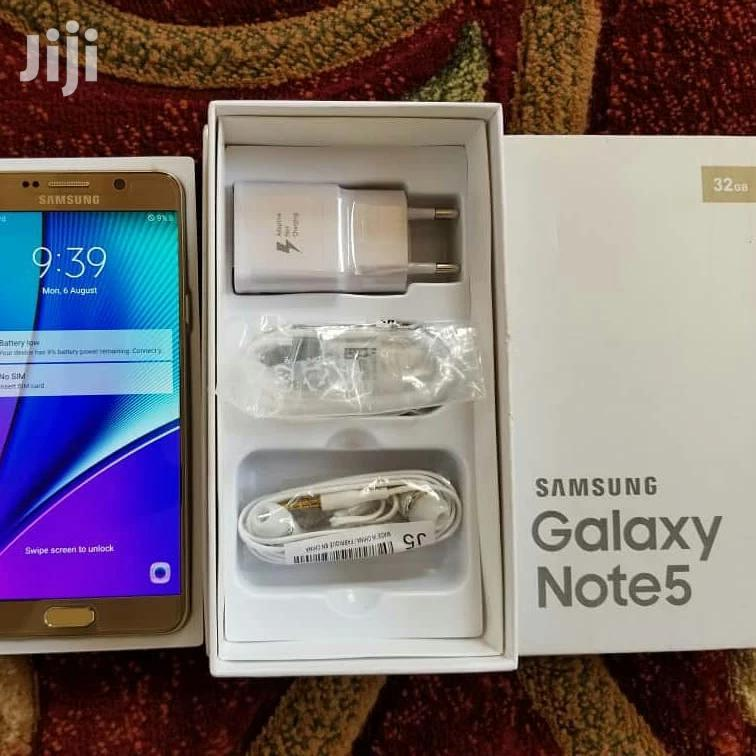 New Samsung Galaxy Note 5 32 GB Gold | Mobile Phones for sale in Kinondoni, Dar es Salaam, Tanzania