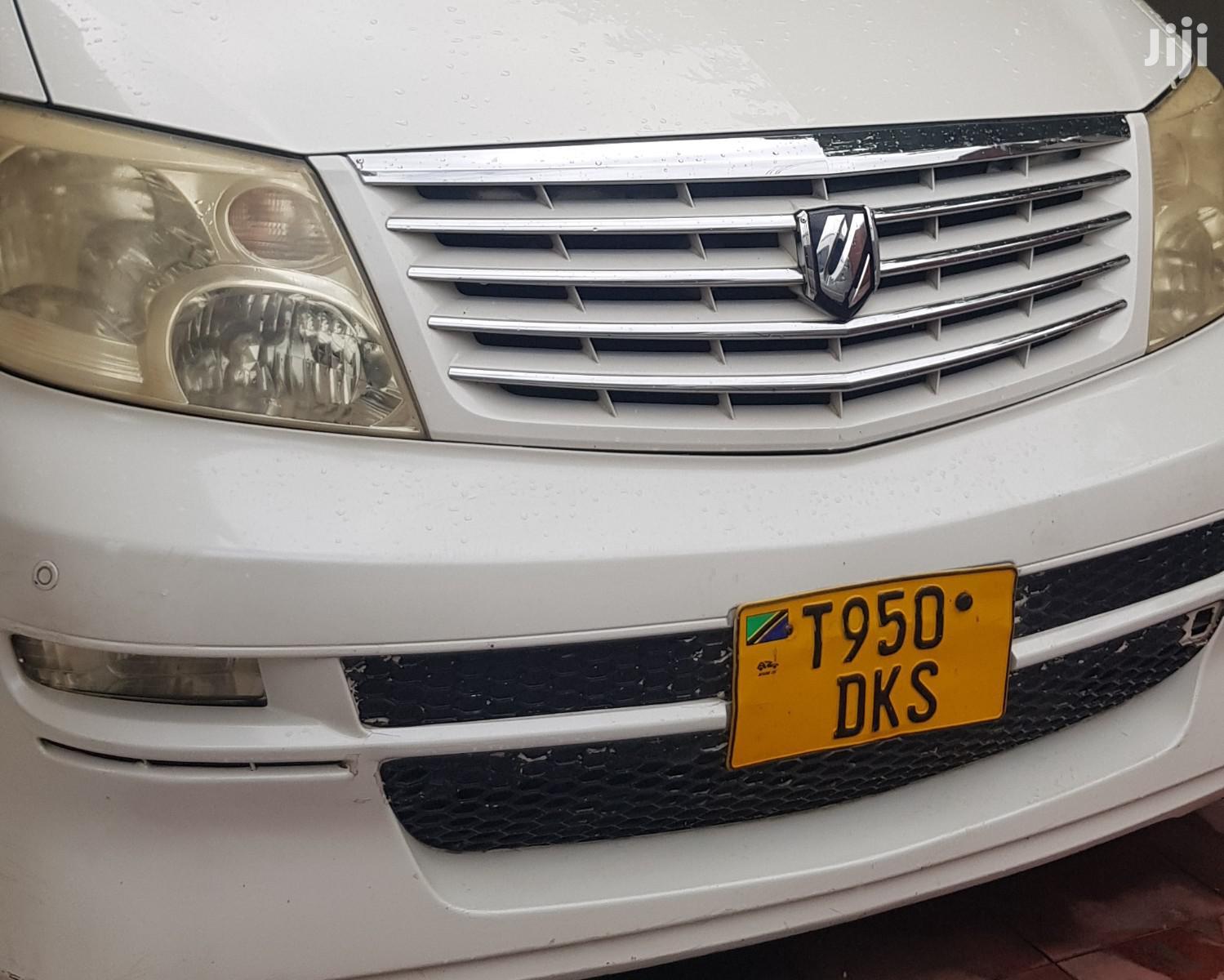 Toyota Alphard 2003 White | Cars for sale in Ilala, Dar es Salaam, Tanzania
