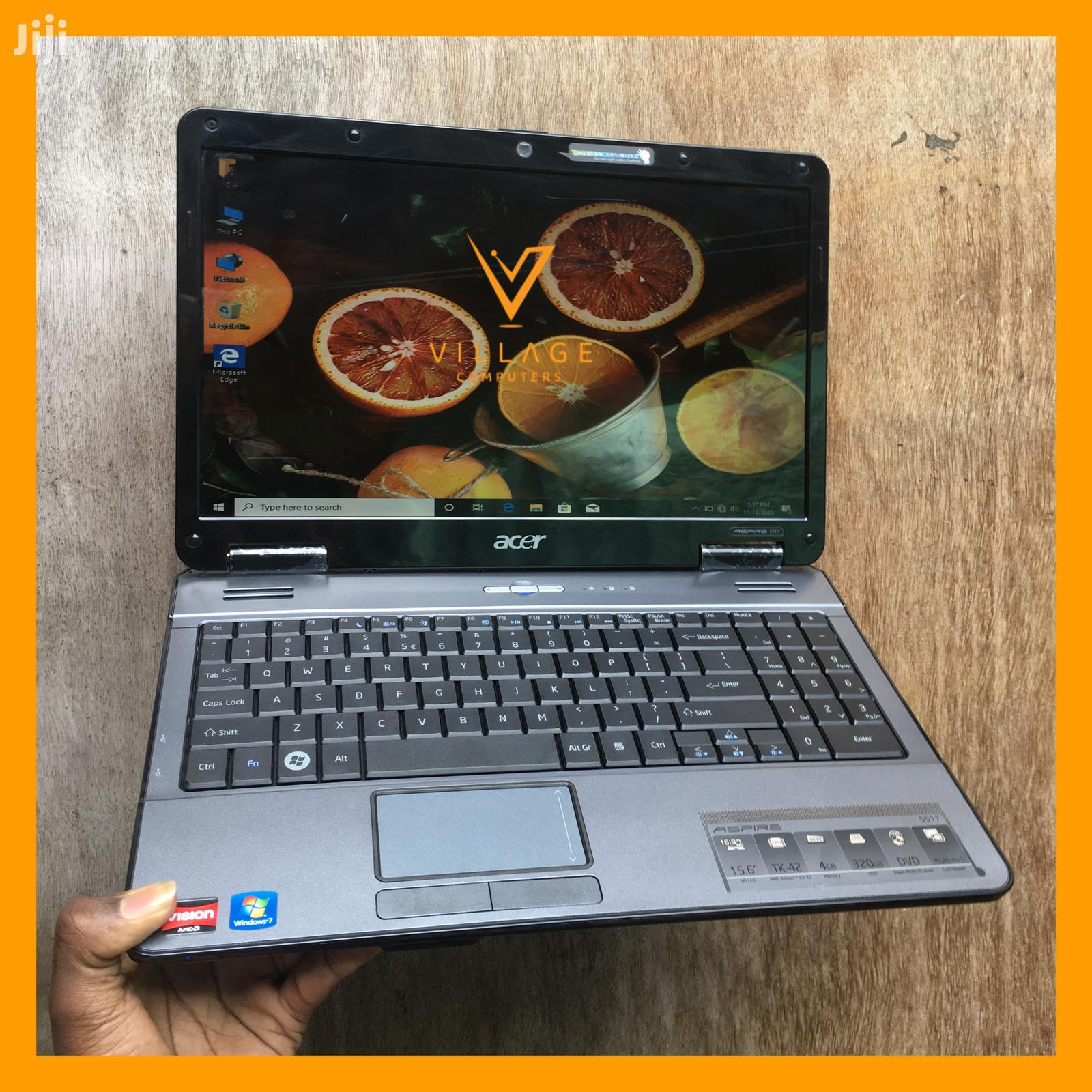 Archive: Laptop Acer Aspire 5517 4GB AMD HDD 320GB