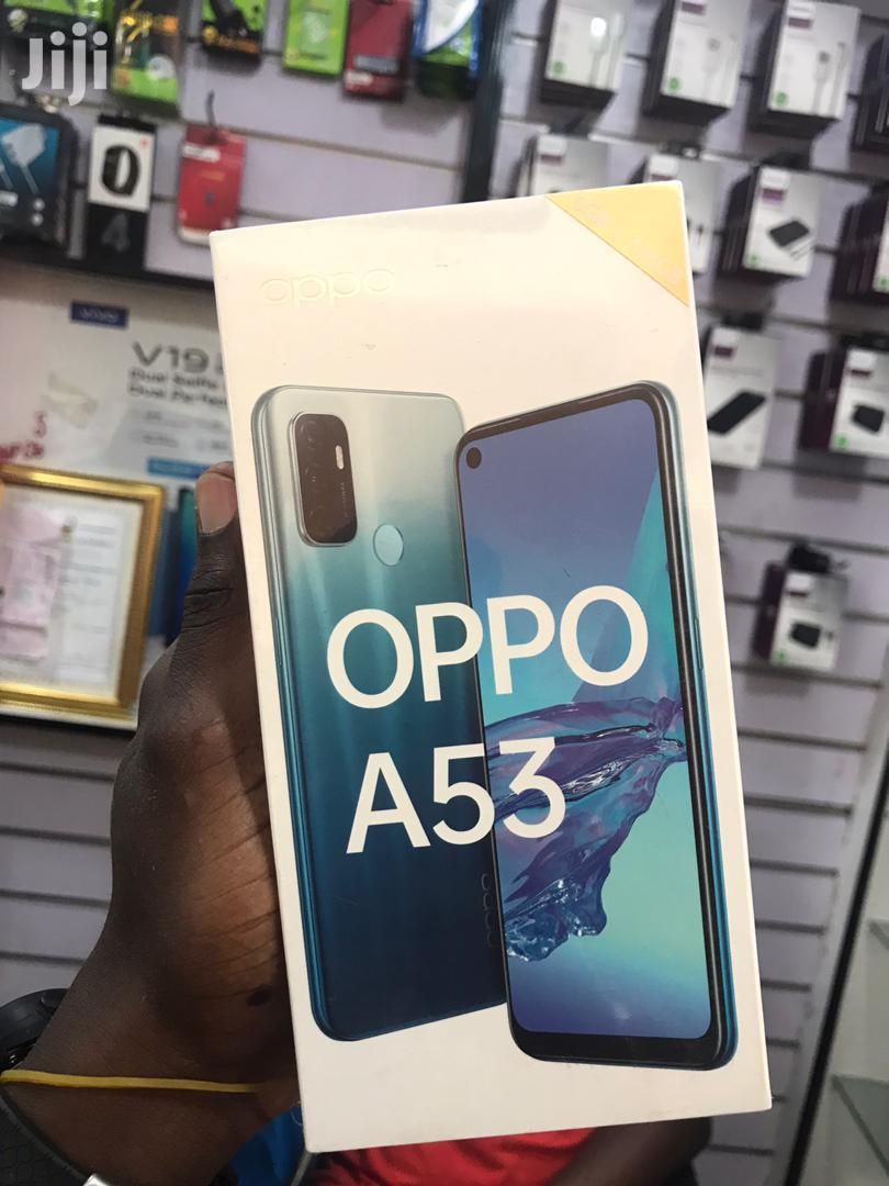 New Oppo A53 128 GB Blue