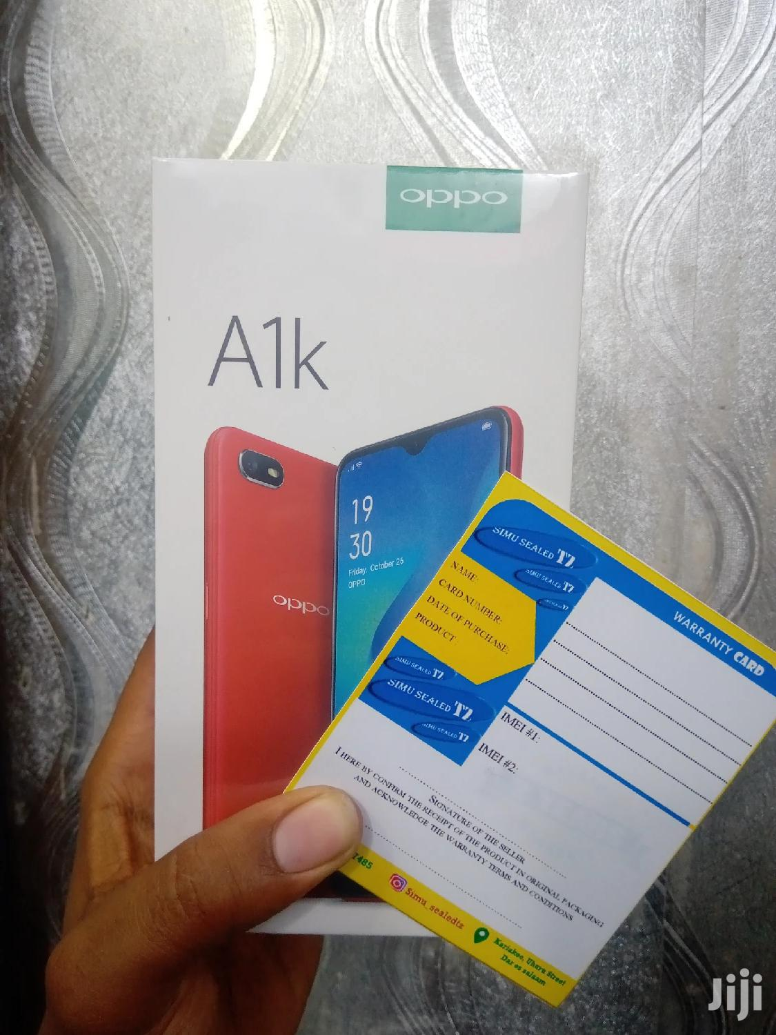 New Oppo A1k 32 GB Black | Mobile Phones for sale in Ilala, Dar es Salaam, Tanzania