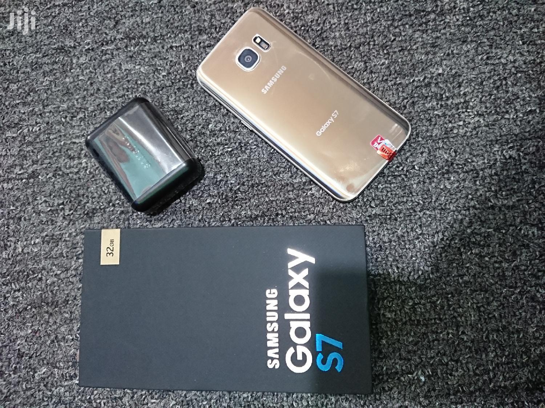 New Samsung Galaxy S7 32 GB Gold | Mobile Phones for sale in Ilala, Dar es Salaam, Tanzania