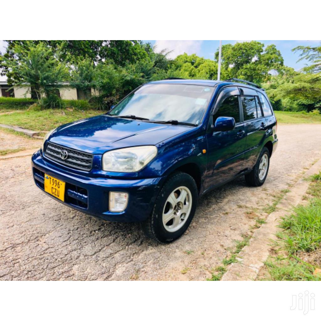 Toyota RAV4 2003 Blue