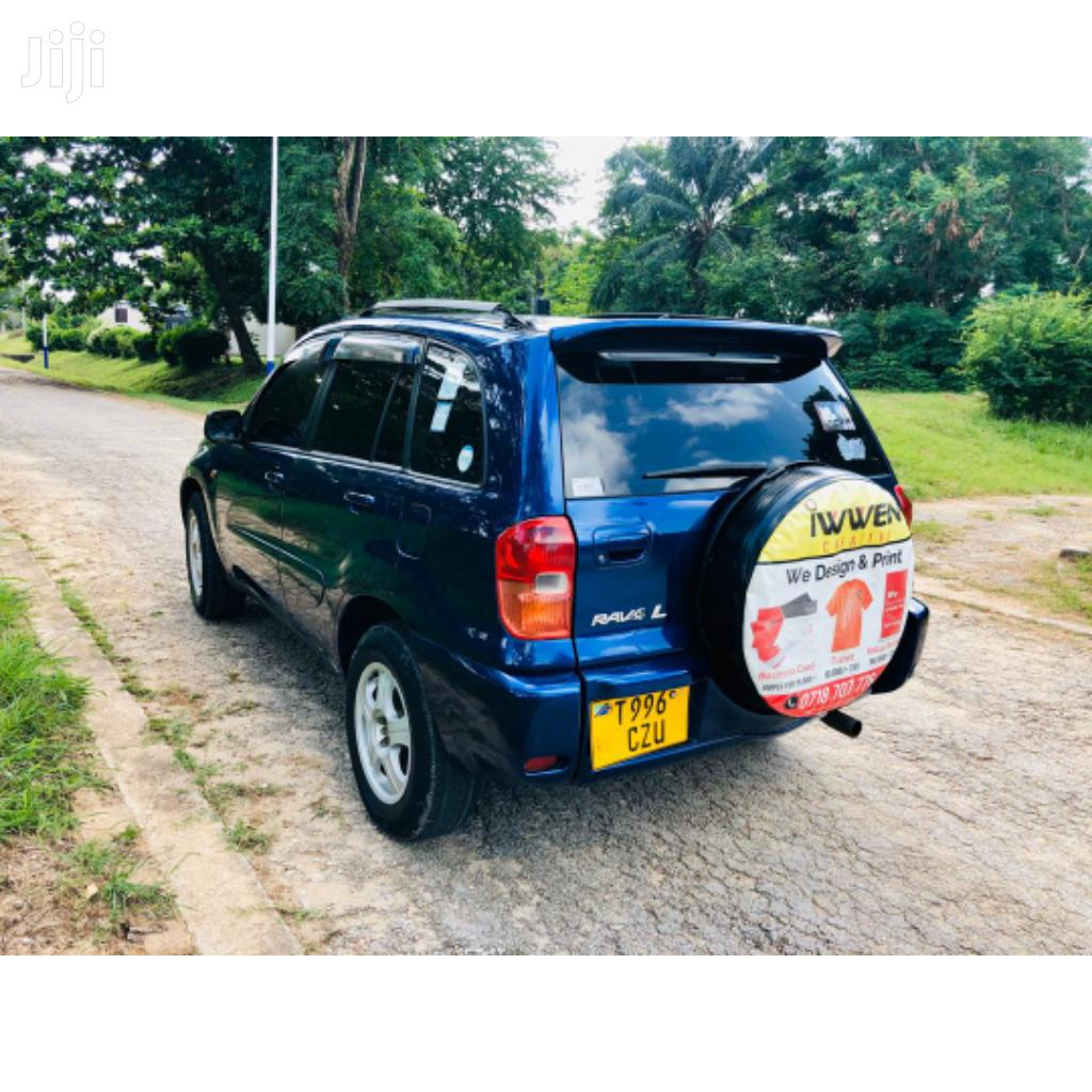Toyota RAV4 2003 Blue   Cars for sale in Kinondoni, Dar es Salaam, Tanzania