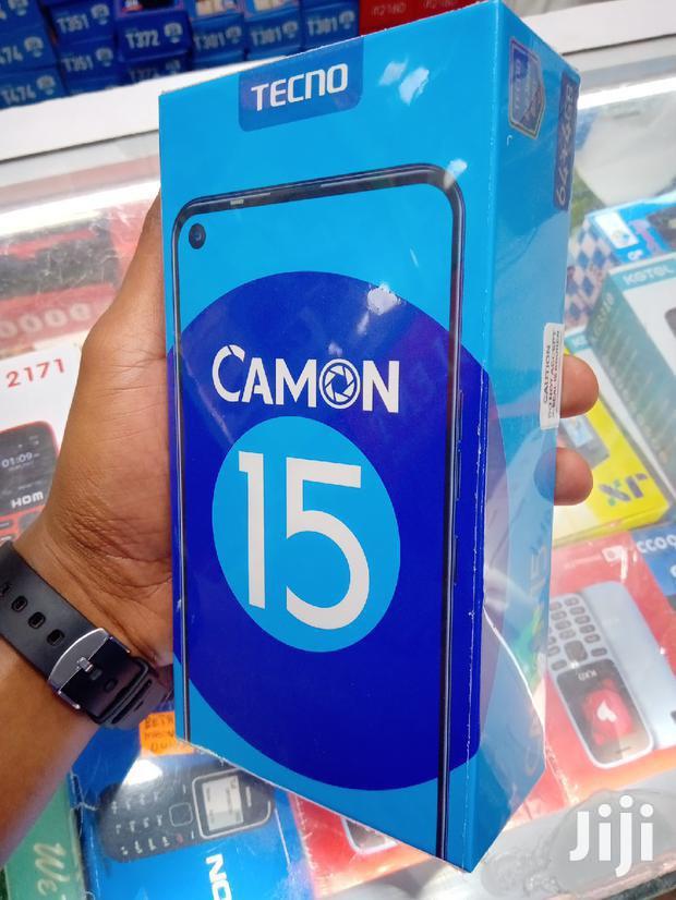 Archive: New Tecno Camon 15 64 GB Blue
