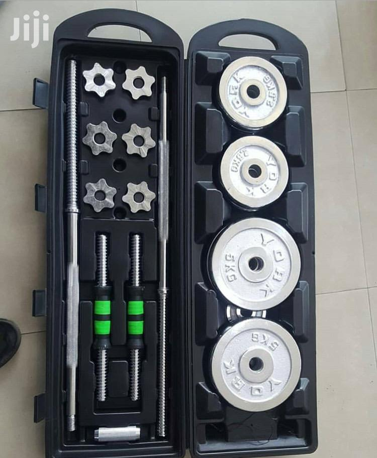 Dumbell And Barbells | Sports Equipment for sale in Ilala, Dar es Salaam, Tanzania