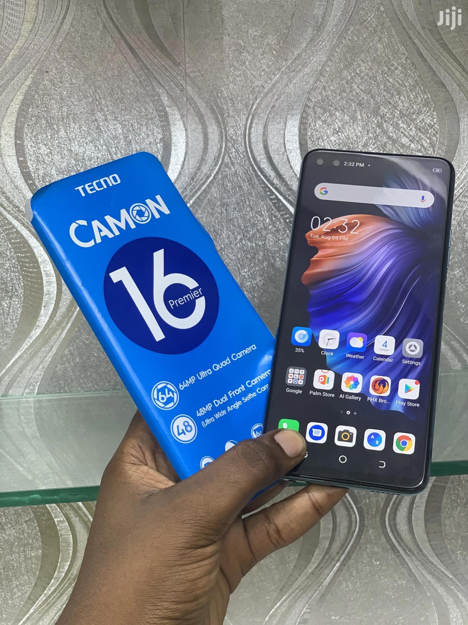 New Tecno Camon 16 Premier 128GB | Mobile Phones for sale in Ilala, Dar es Salaam, Tanzania