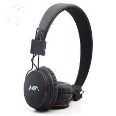 Archive: Nia X2 Bluetooth Wireless Headphone Black