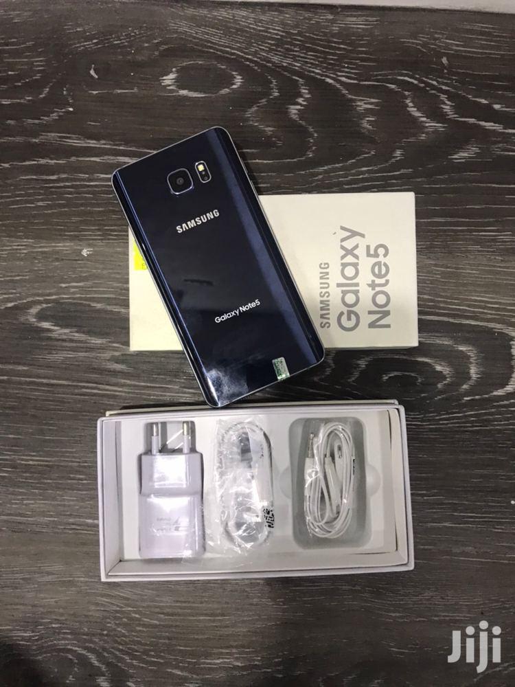 New Samsung Galaxy Note 5 32 GB Blue | Mobile Phones for sale in Kinondoni, Dar es Salaam, Tanzania