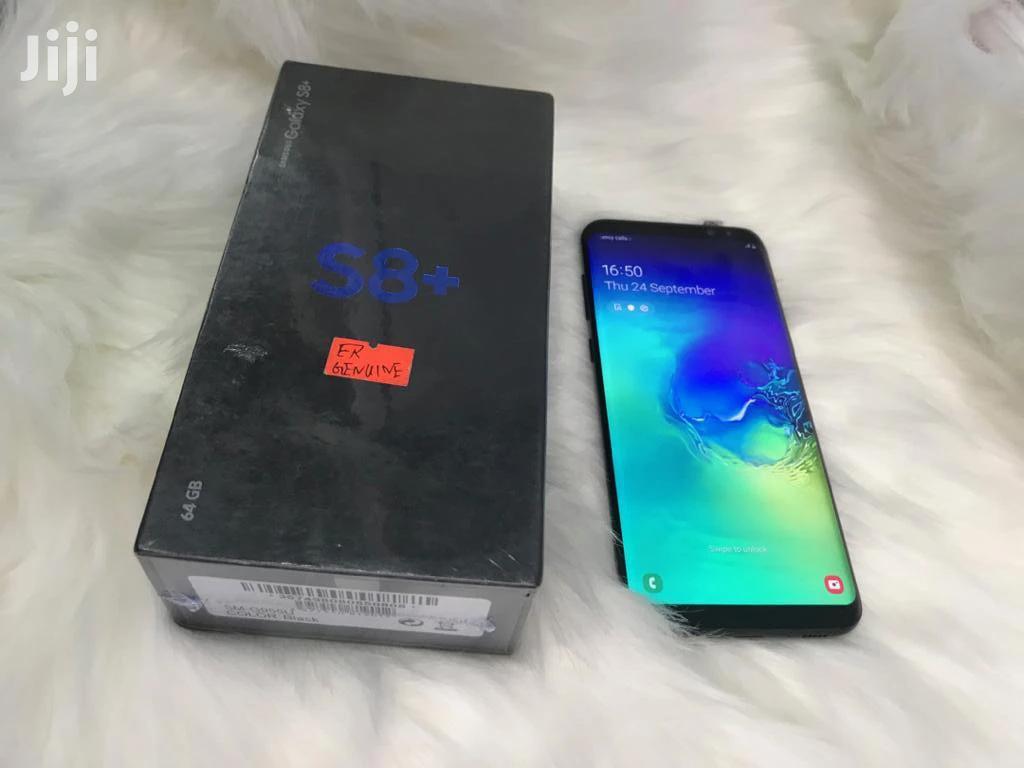 New Samsung Galaxy S8 Plus 128 GB Black | Mobile Phones for sale in Kinondoni, Dar es Salaam, Tanzania