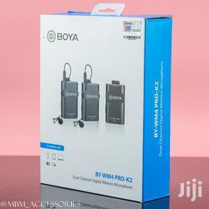 BOYA BY-WM4 Pro K2 Portable 2.4G Wireless Microphone System | Audio & Music Equipment for sale in Dar es Salaam, Kinondoni