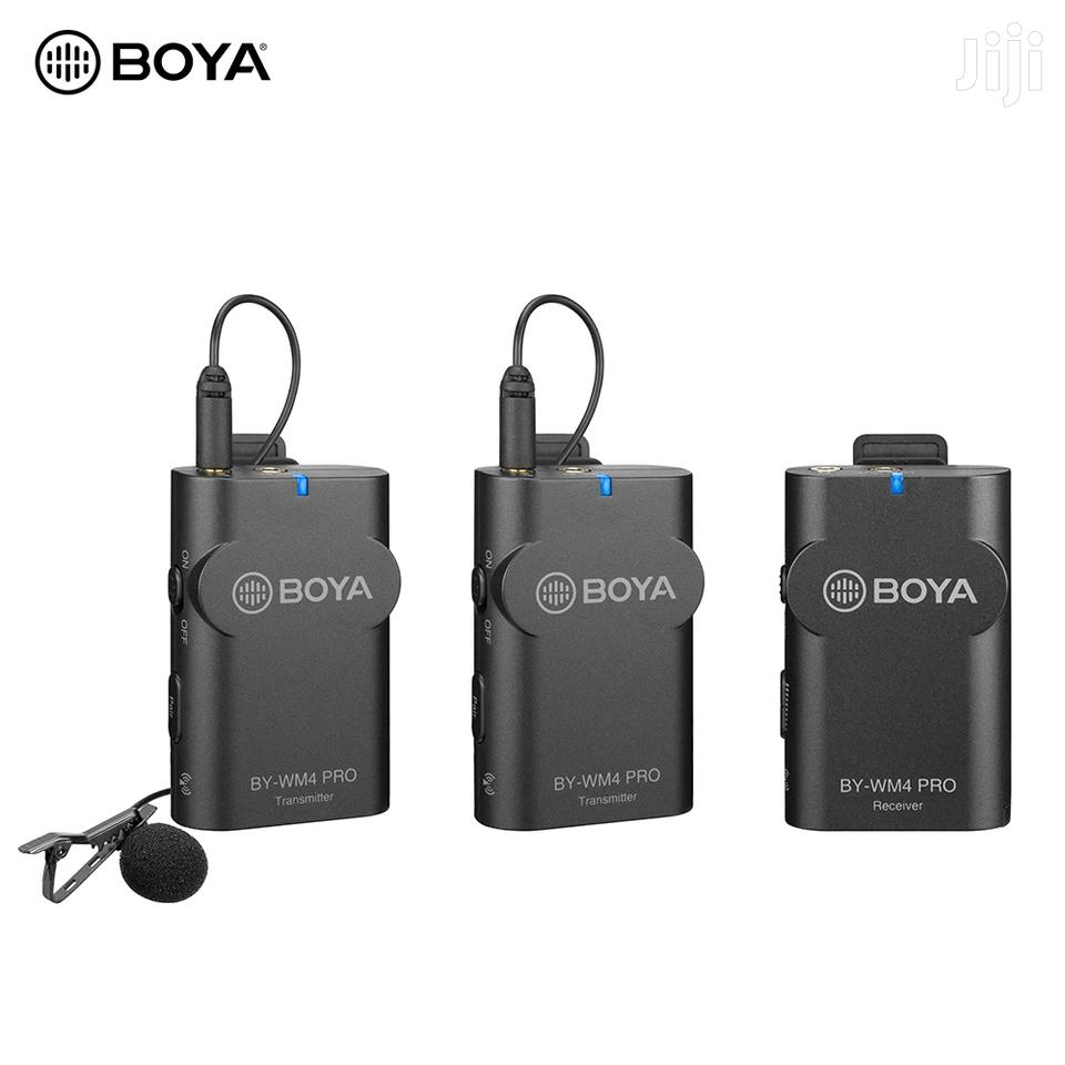 BOYA BY-WM4 Pro K2 Portable 2.4G Wireless Microphone System   Audio & Music Equipment for sale in Kinondoni, Dar es Salaam, Tanzania