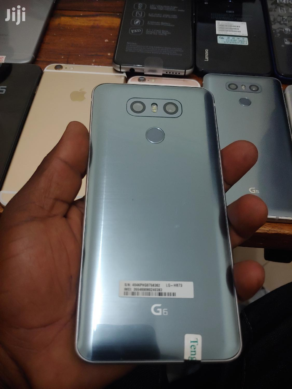 New LG G6 32 GB Silver