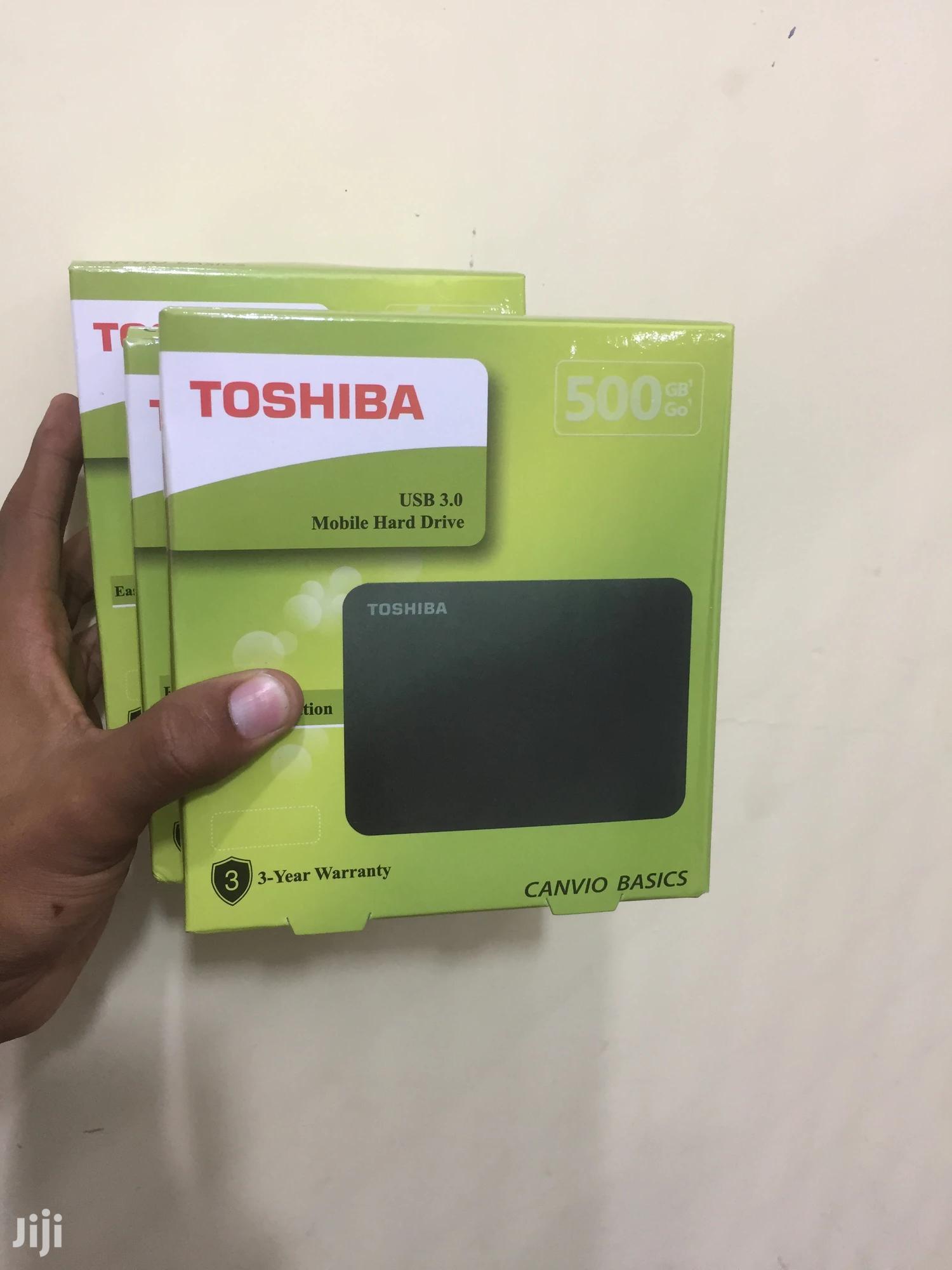 External Hard Disk 500GB